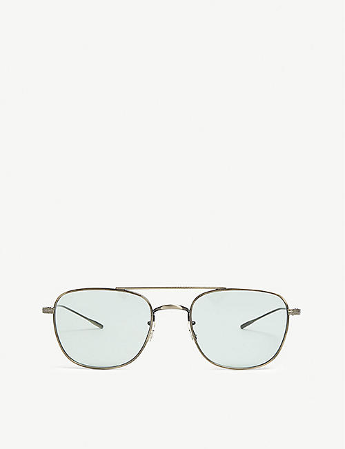 0d569bb6da415 OLIVER PEOPLES Kress aviator glasses