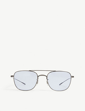 OLIVER PEOPLES Kress aviator sunglasses