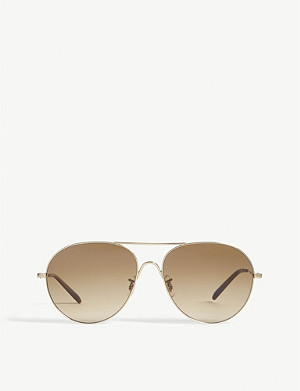 OLIVER PEOPLES Rockmore pilot sunglasses