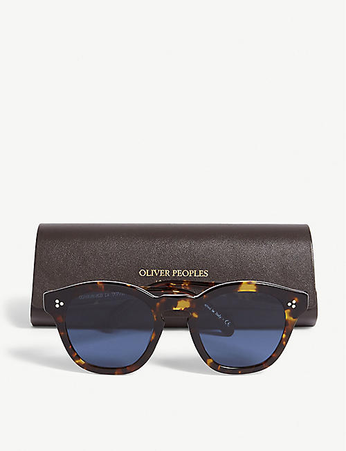OLIVER PEOPLES Square-frame sunglasses