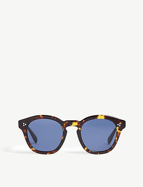 79bbc5ce1b5 OLIVER PEOPLES Square-frame sunglasses