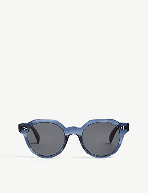 OLIVER PEOPLES Blue irven phantos sunglasses
