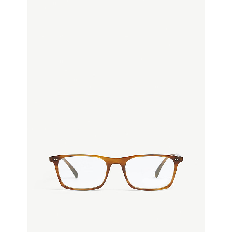 OLIVER PEOPLES | Teril Rectangle-Frame Optical Glasses | Goxip