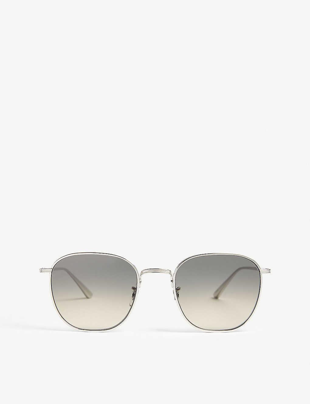 aeedc5d5364d OLIVER PEOPLES - Board Meeting sunglasses | Selfridges.com