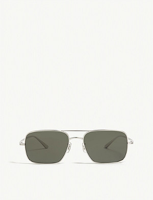 OLIVER PEOPLES The Row square frame sunglasses