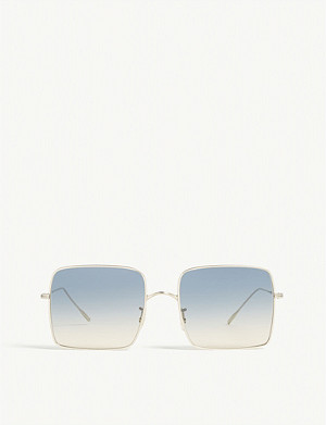 OLIVER PEOPLES Rassine gradient square-frame sunglasses