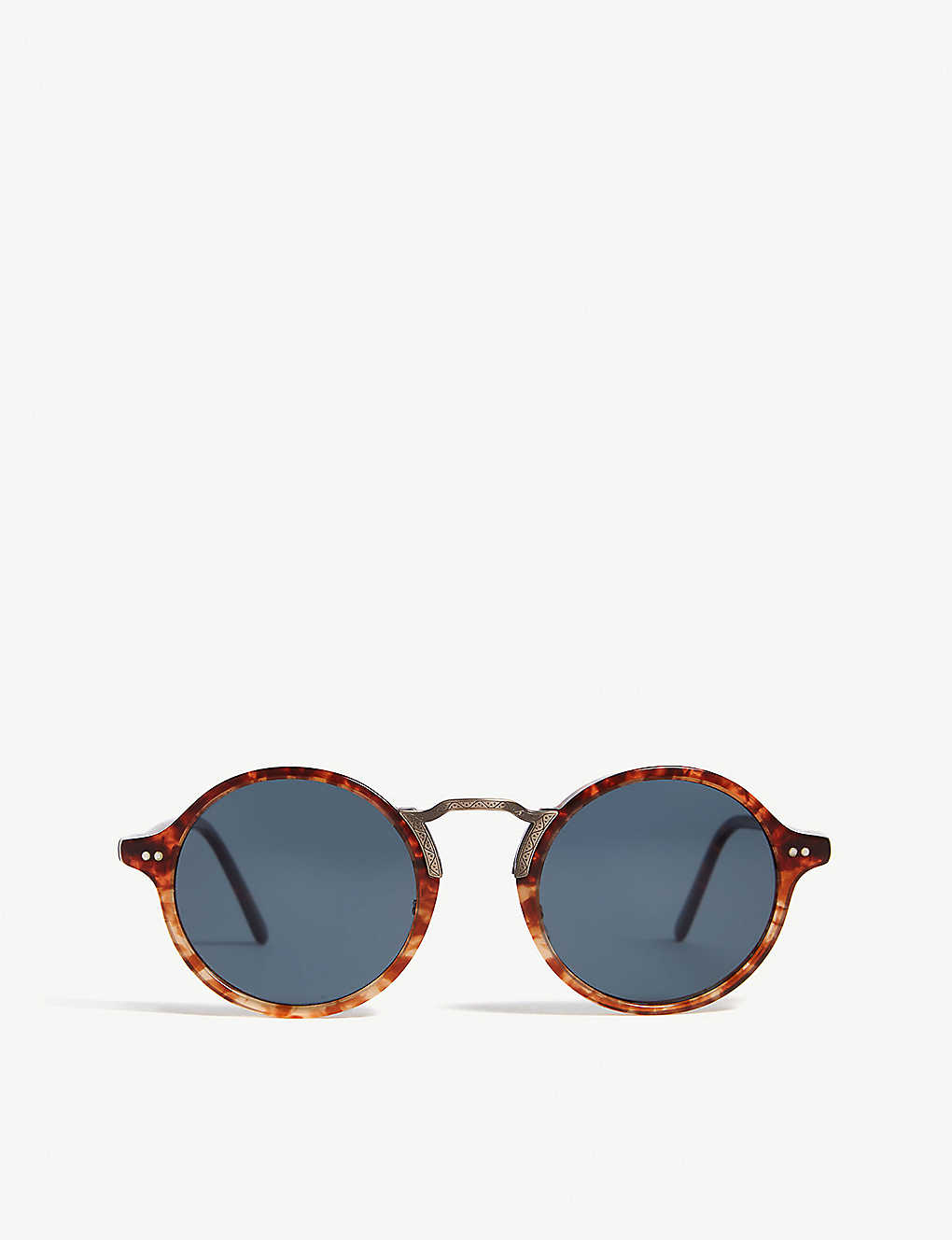 OLIVER PEOPLES: Kosa round-frame polarised sunglasses