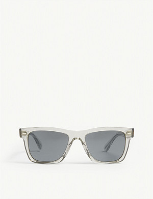 OLIVER PEOPLES Oliver rectangle-frame sunglasses