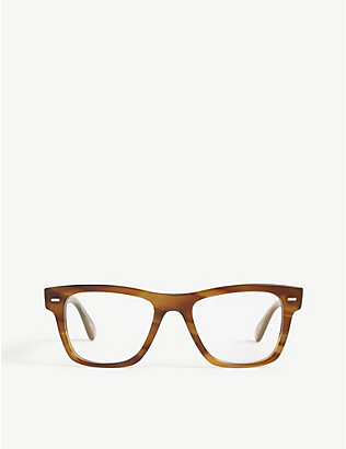 OLIVER PEOPLES: Ov5393u Oliver rectangle-frame optical glasses