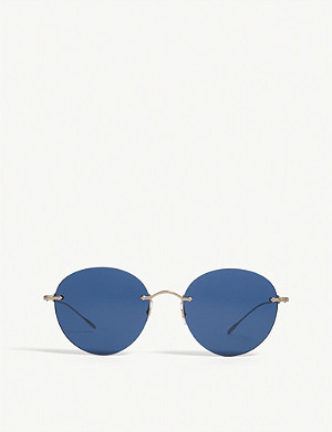 OLIVER PEOPLES Coliena round-frame sunglasses