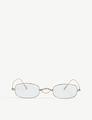 OLIVER PEOPLES Edeson oval-frame glasses