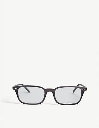 OLIVER PEOPLES: Roel rectangle frame sunglasses