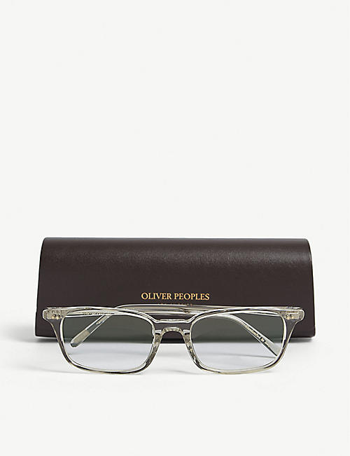 OLIVER PEOPLES Roel rectangle frame sunglasses