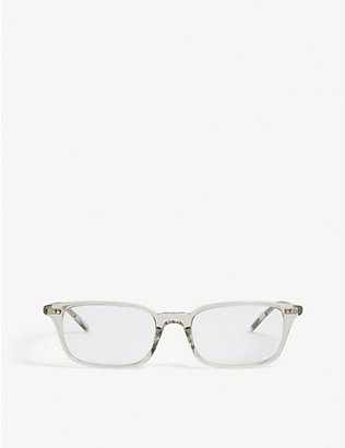 OLIVER PEOPLES: Roel rectangle frame glasses