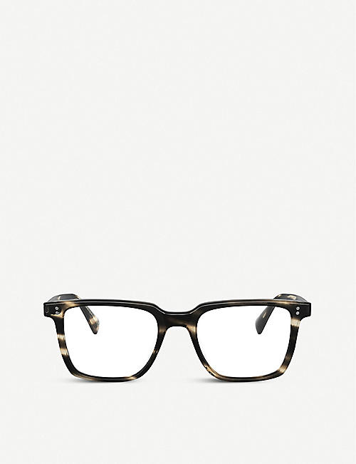 OLIVER PEOPLES: OV5419U Lachman acetate square-frame glasses