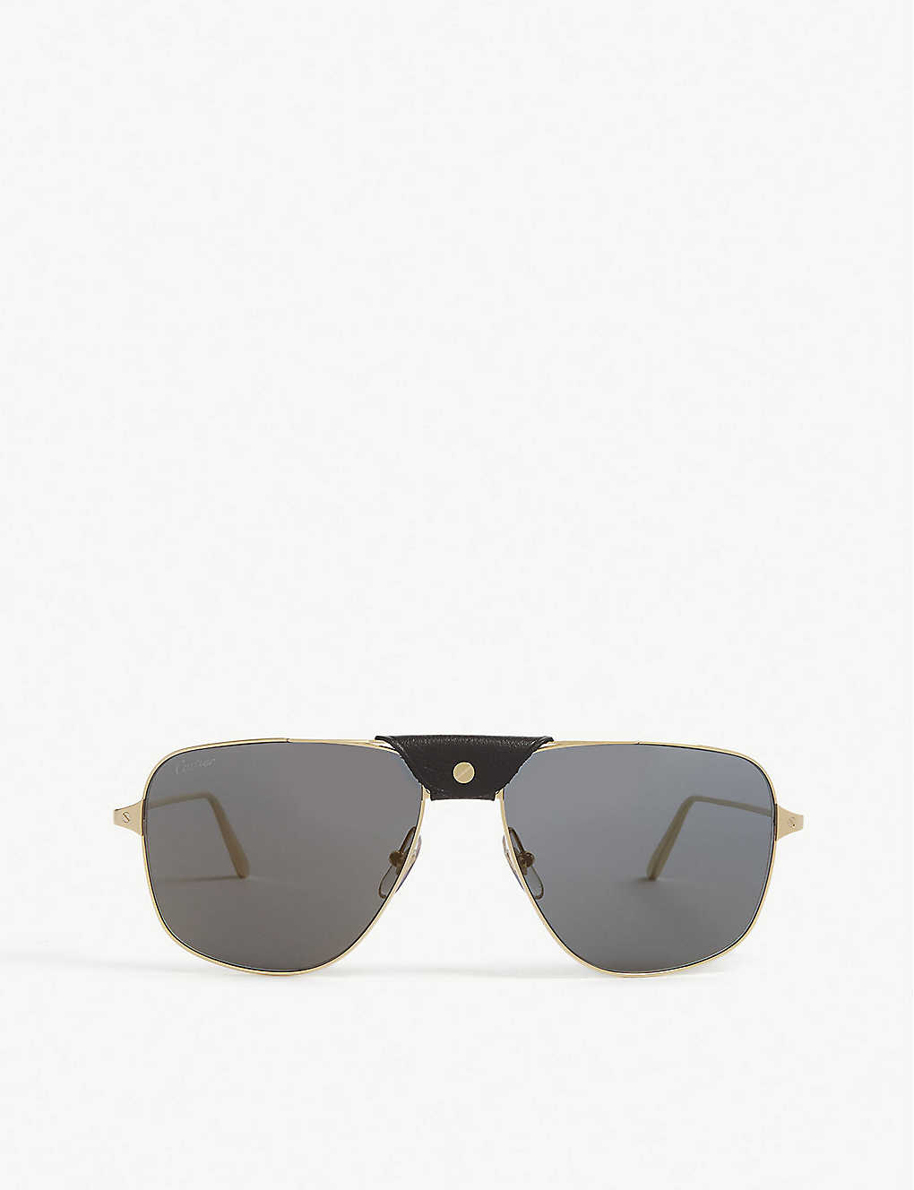 CARTIER: CT0037S pilot-frame sunglasses