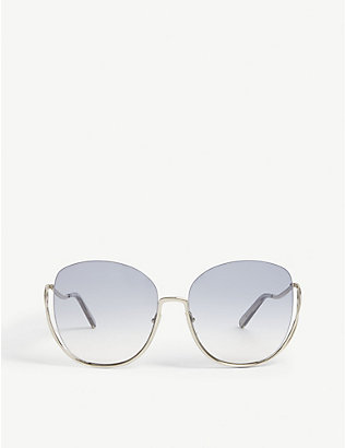 CHLOE: CE125S butterfly-frame sunglasses