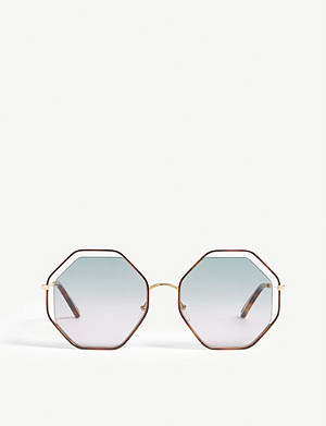 CHLOE CE132S poppy irregular sunglasses