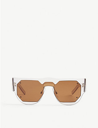 MARNI: Me622s rectangle-frame sunglasses