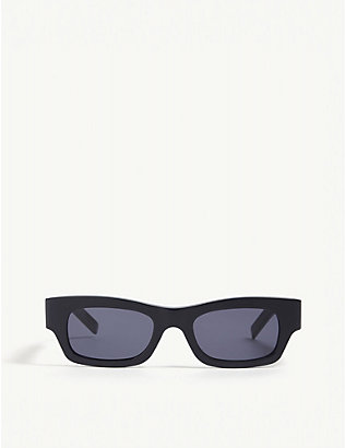 MARNI: ME6275 rectangular-frame acetate sunglasses