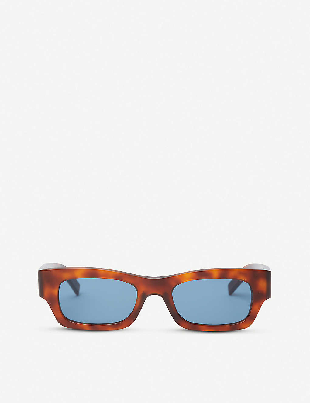 58ac974c50e7c ME627S rectangular-frame tortoiseshell acetate sunglasses - Havana ...