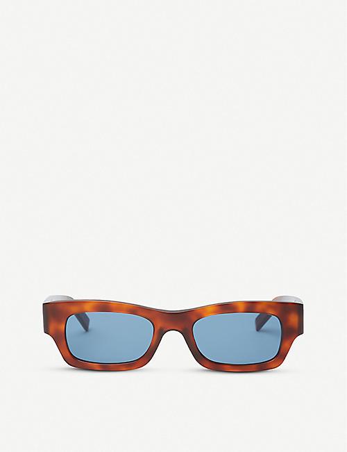 b936fbf449 MARNI ME627S rectangular-frame tortoiseshell acetate sunglasses