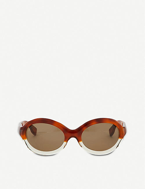 MARNI: Me629s Oval Sunglasses