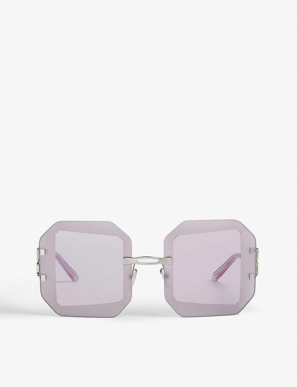 Marni Sunglasses Octagon-shaped sunglasses