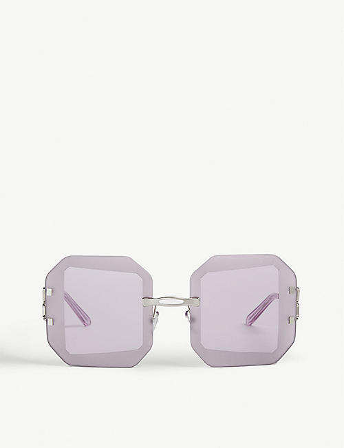 MARNI: Octagon-shaped sunglasses