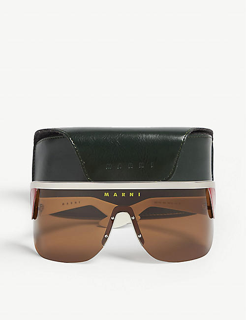 MARNI ME111S shield sunglasses