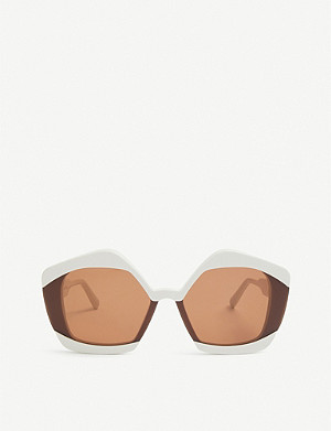 MARNI Me636s geometric-shaped sunglasses