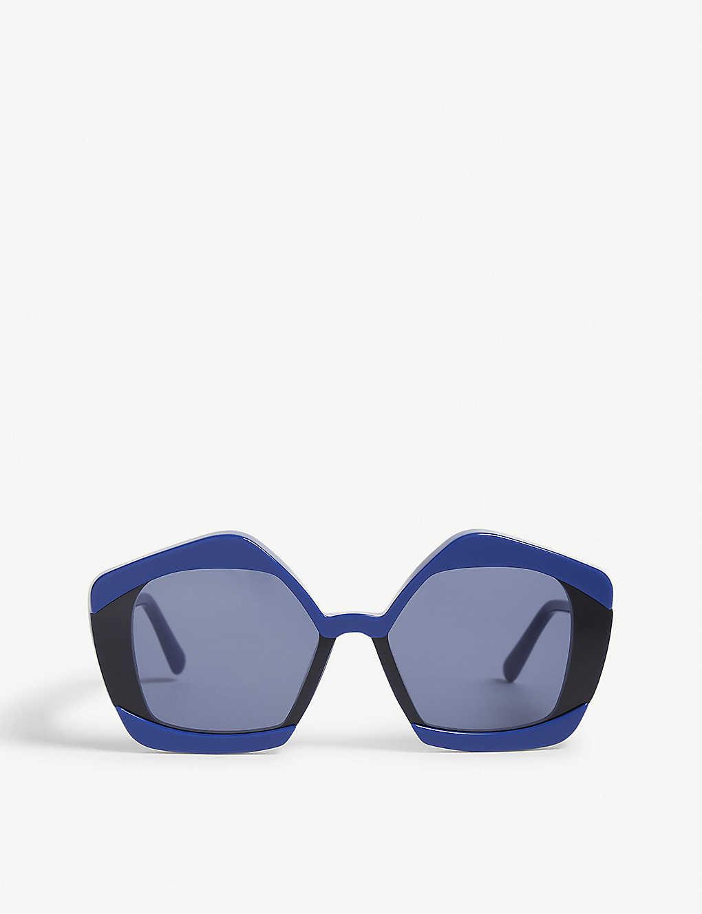Marni Sunglasses ME636S irregular-frame sunglasses