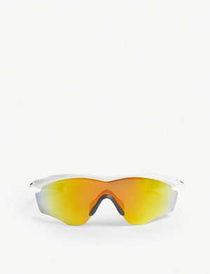 OAKLEY OO9343 M2 Frame wrap-around sunglasses