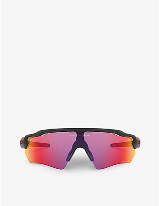 OAKLEY: OJ9001-44 Radar® EV Path® O Matter™ rectangular-framed sunglasses