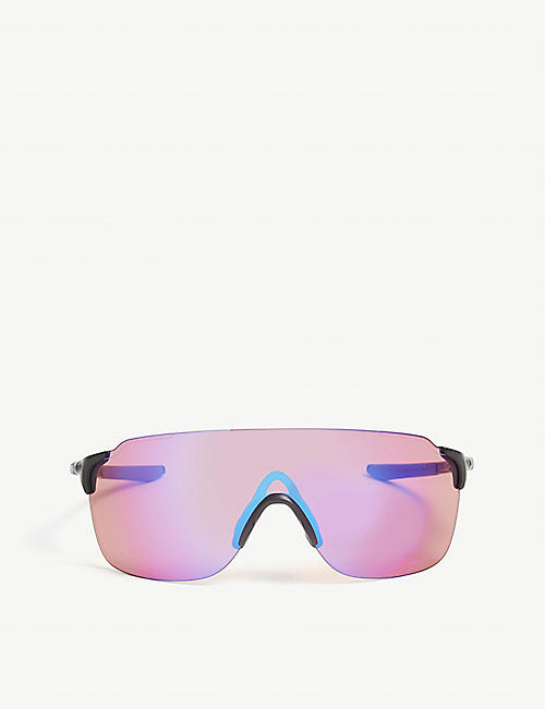 OAKLEY OO9386 EVZero Stride wrap-around sunglasses