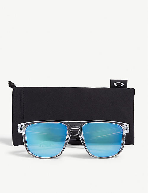 OAKLEY Holbrook clear square sunglasses