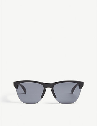 OAKLEY: Oo9374 square-frame sunglasses