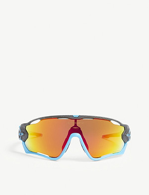OAKLEY OO9290 Jawbreaker wrap-around sunglasses