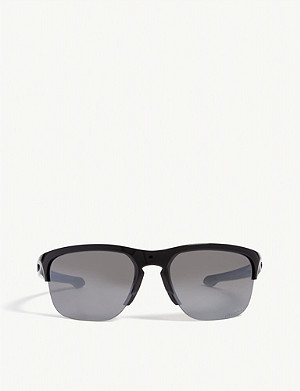 OAKLEY Sliver Edge wrap around sunglasses