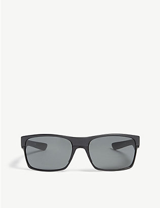 OAKLEY: OO9189 TwoFace square-frame sunglasses
