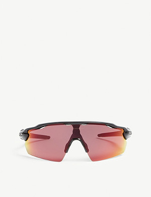 OAKLEY OO9211 Radar EV wrap-around sunglasses