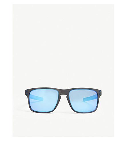 d8d00530f07f6 OAKLEY OO9384 Holbrook Mix square-frame sunglasses (Black