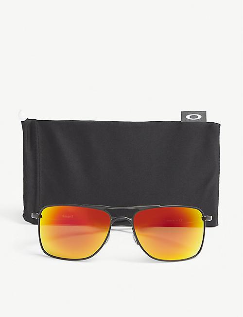 82385ccd3e59 OAKLEY OO4124 Gauge 8 rectangle-frame sunglasses