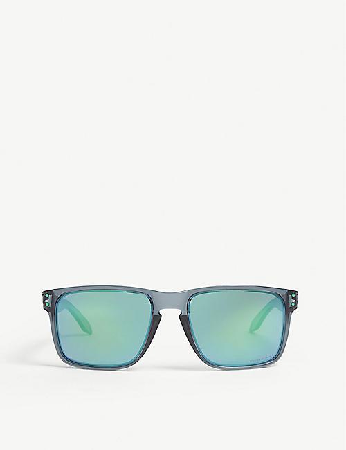 1258bc080220 OAKLEY OO9417 Holbrook square-frame sunglasses