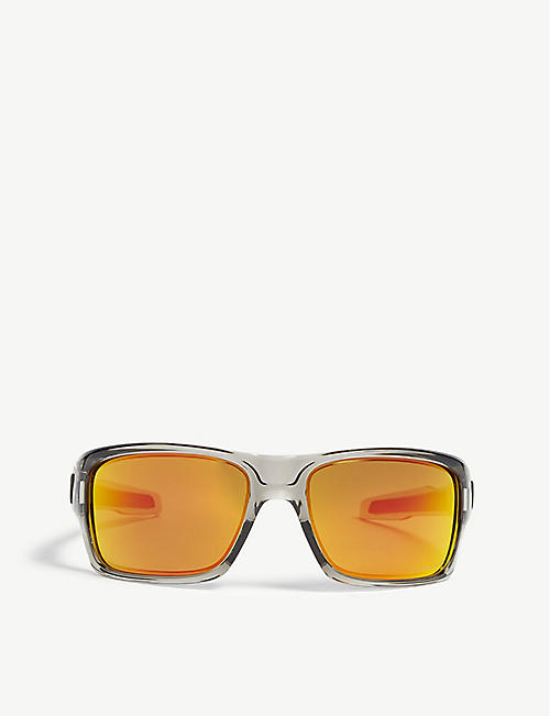 OAKLEY: OO9263 Turbine square-frame sunglasses
