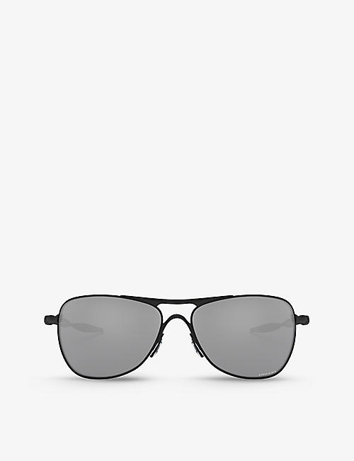OAKLEY: OO4060 Crosshair® square-frame sunglasses