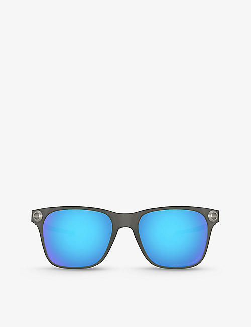 OAKLEY: OO9451-0155 Apparition™ Nano-Matter™ and stainless steel sunglasses