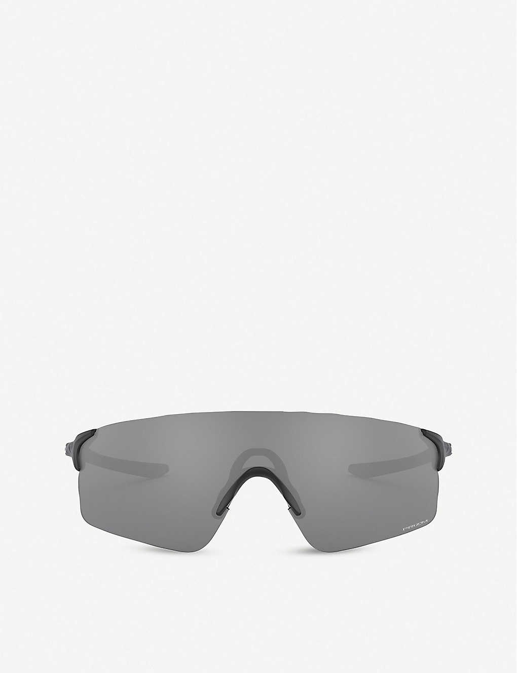 OAKLEY: OO9454 38 EVZero Blades acetate rectangle-frame sunglasses