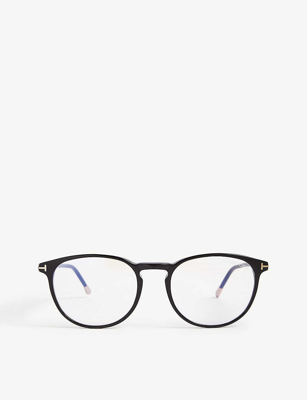 TOM FORD: FT5608-B round glasses