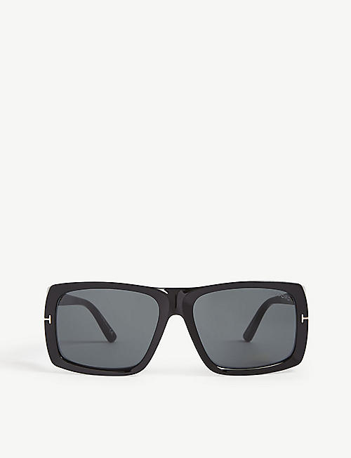 TOM FORD: Rizzo FT0730 square-frame sunglasses